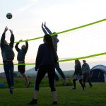 Volley Ball, Llety Farm Camping, St Davids, Pembrokeshire